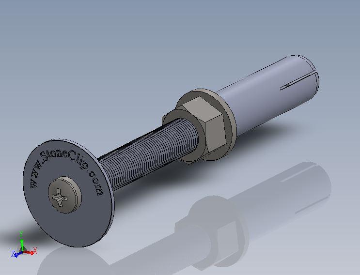 Stone-Pin-12mm- Round